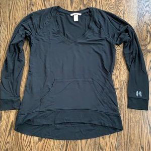 Victoria's Secret loungewear sweatshirt black smal
